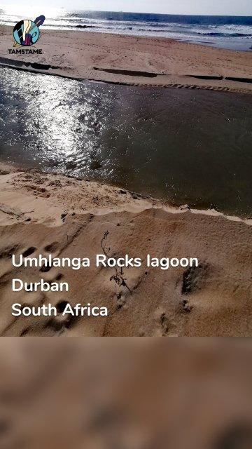 Umhlanga Rocks lagoon Durban South Africa